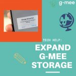Running Out of Storage? Expand G-mee device storage with a MicroSD